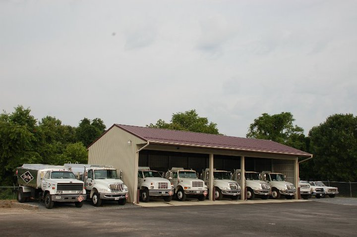 Sterling Oil Trucks